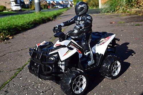 1/10 SCALE ATV QUAD MOTORCYCLE RC RADIO REMOTE CONTROL CAR CAR