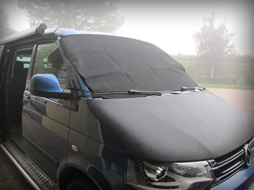 Preisvergleich Produktbild - Fenster mit Klettverschluss passend für Ford Modelle. Frostwächter für alle Standard Windschutzscheibe, Maße (B x H): 158x 96