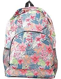 Tamirha Multicolor Floral Print Multipurpose Folding Bag Travel Bag