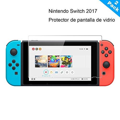 Yincol [A] Nintendo Switch Protector de Pantalla,Vidrio Templado Tempered Glass [ Anti-reflejo,Ultra...