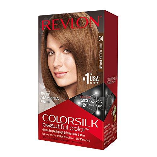 Revlon Colorsilk permanente Haarfarbe - # 54 helles goldenes Braun