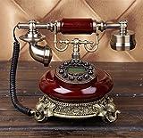 DW&HX Mode antike Telefone European-Style Retro-Radio Home-Office Festnetz Festnetz-B