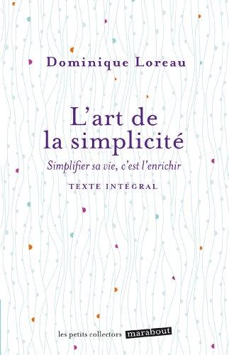 L'art de la simplicité