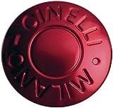 Cinelli Milano anodizzato tappi per manubrio, rosso