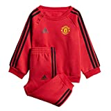 ADIDAS Baby Manchester United 3S Jogginganzug, real red/Black, 80