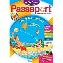Passeport Du CM2 à la 6e - Cahier de vacances