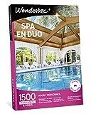 Wonderbox - Coffret cadeau pour couple - SPA EN DUO - 1500 soins bien-être, massages aux huiles essentielles, accès au spa, gommages aux cristaux de sel