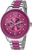 Esprit Damen-Armbanduhr marin lucent Analog Quarz verschiedene Materialien ES106202007