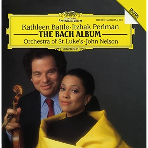 The Bach Album: Arias for Soprano and Violin (2013) Audio CD