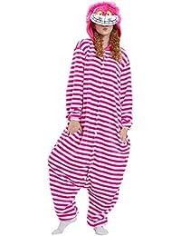 f2733fe1d4 Unisex Striped Cartoon Animal Pijamas de una Sola Pieza Servicio a  Domicilio Traje cálido Pijamas de