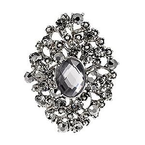 HIDOUYAL Damen Broschen Pins Hochzeit Broschen Clip Pin für Frauen