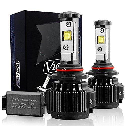 Preisvergleich Produktbild Wiseshine h11 h8 h9 canbus LED birne lampen zum autolampen 7200lm 60W 6000K kühles weiß CREE 3 Jahre Garantie