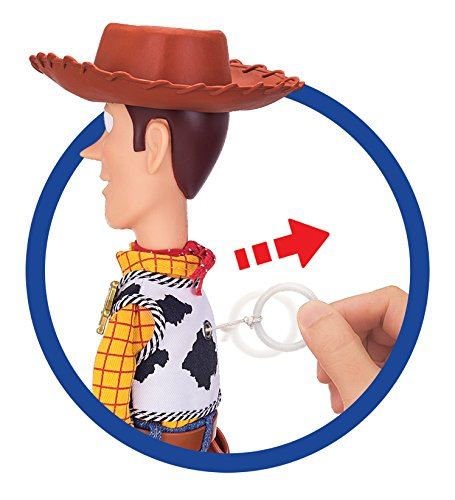 MTW Toys 64071 - Disney Pixar Toy Story - Sprechender Sheriff Woody, Actionfiguren, 12 x 37 x 8 cm - 3