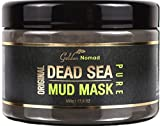 Dead Sea Mud Mask 500g By Golden Nomad + FREE Gift: 100% Natural Deep Skin Cleanser-Face, Body, Hair -Anti-Aging Treatment-Pure Detoxifying Moisturizer-Psoriasis, Eczema, Acne, Pimples, Inflammation, Cellulite Relief