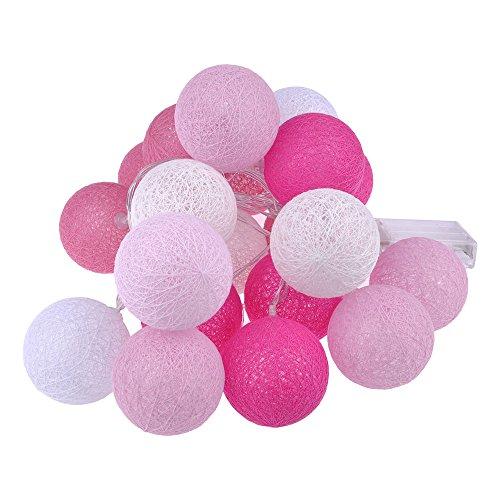 gel Schnur Licht LED Nachtlicht Batteriebetrieben Haus Dekoration Rosa (Rosa Dekoration)