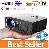 [Sponsored]Myra Vivibright GP80 Led Projector 1800 Lumens, 800*480, Support 1080P, HDMI, VGA, AV, USB