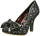 Irregular Choice Women's Mal E Bow Closed-Toe Heels