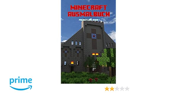 Minecraft Ausmalbuch Pocketline Band 1 Amazonde Db Mandala