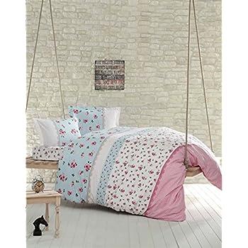 bettw sche 240x220 cm rosen in love v1 5tlg set k che haushalt. Black Bedroom Furniture Sets. Home Design Ideas