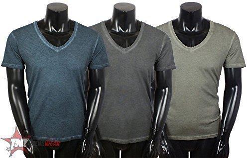 Chevignon -  T-shirt - Uomo grigio scuro 46