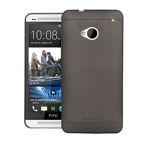 HTC One M7 Case, Heavy Duty Cover Ultra Slim Fit Protection Back Cover For HTC One M7 (Black)  available at amazon for Rs.199