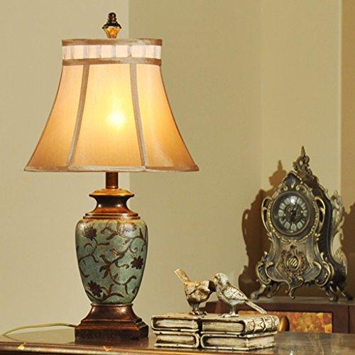 Guo American Retro Rustique Méditerranée Asie du Sud-Salon Den Chambre chevet décoratif Vase chinois Lampe de table (Couleur : Multi-colored2)