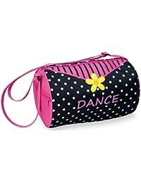 Danshuz Daisy, Dots & Dance Black Duffle Bag