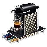 Screl - Porte Capsule Nespresso Présentoir Distributeur de dosette via Tiroir de rangement 40 capsules
