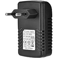 Richer-R Inyector PoE 48V 0.5A de Pared, Adaptador Ethernet Teléfono IP/Cámara Fuente de Alimentación Compatible con Enchufe de EU(Euro Plug)