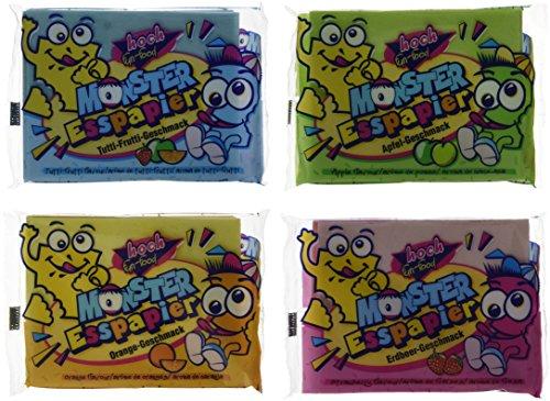 HOCH fun-food Monster Esspapier, 20er Pack (20 x 29 g) (Bananen-extrakt)