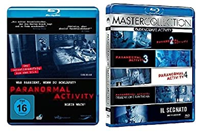 Blu-Ray Set Paranormal Activity 1-6, 1,2,3,4,5,6, Box + Blu-Ray, Collection, neu