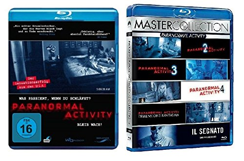 Blu-Ray Set Paranormal Activity 1-6, 1,2,3,4,5,6, Box + Blu-Ray, Collection, neu