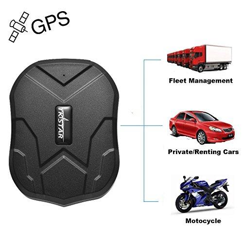 TKSTAR Magnet GPS Tracker Auto,3 Monate lang Standby GPS Ortung, Wasserdicht Echtzeit tracking GPS Locator Professional Anti-verloren GPS Alarm Tracker für auto lkw moto gefrier boot TK905