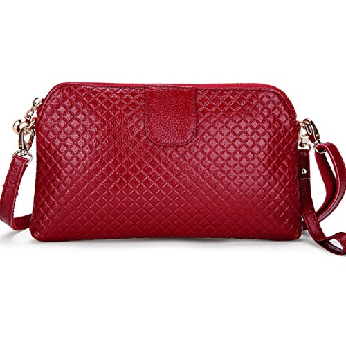 MEI Signora Messenger Bag Belle Controllare,Rosered winered