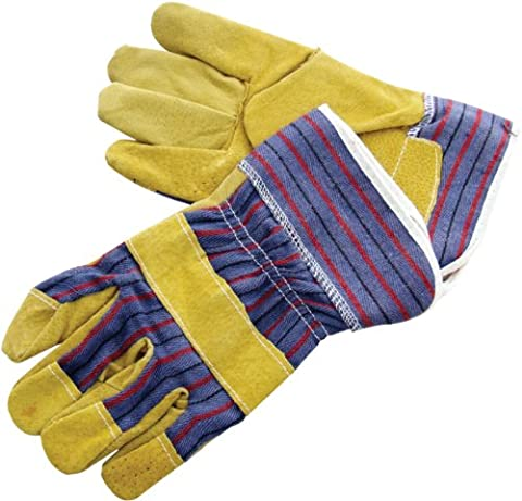 Am-Tech Leather Rigger Gloves, N2300