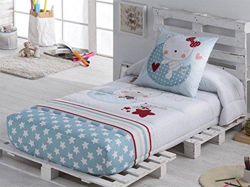 Tejidos JVR - Edredón Ajustable MOON cama 105