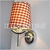 YU-K Der einfache Aufbau Wandleuchte doppelbett Schlafzimmer Tuch der Fahrscheinwerfer