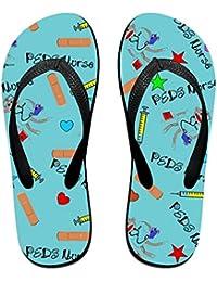 BYDGXGXD Sandalias clásicas de goma para la playa o la playa, color azul
