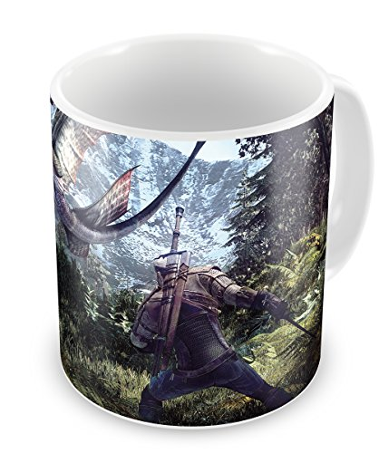 The Witcher III Geralt - taza de cerámica Witcher 3 Mug Type E