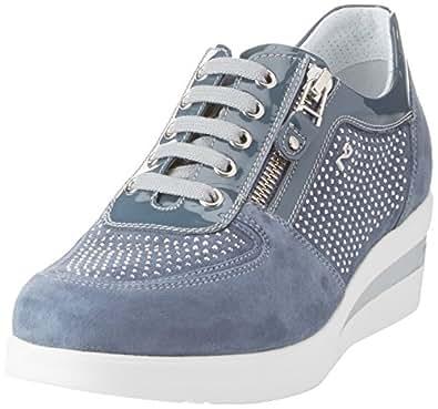 Nero Giardini P805060D, Sneaker Donna, Blu, 35 EU