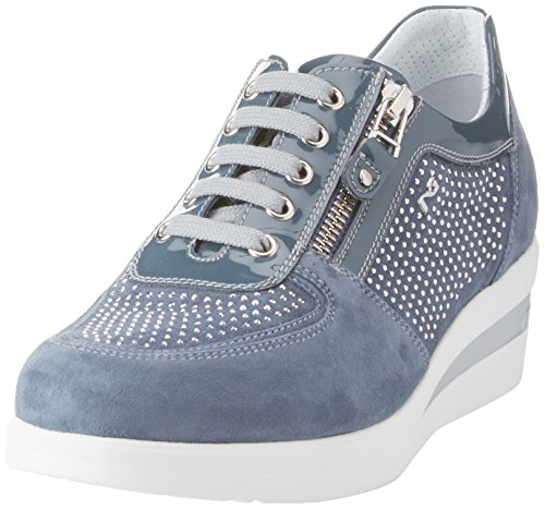 Nero Giardini P805060d, Sneaker Donna Blu (Cielo Pure)