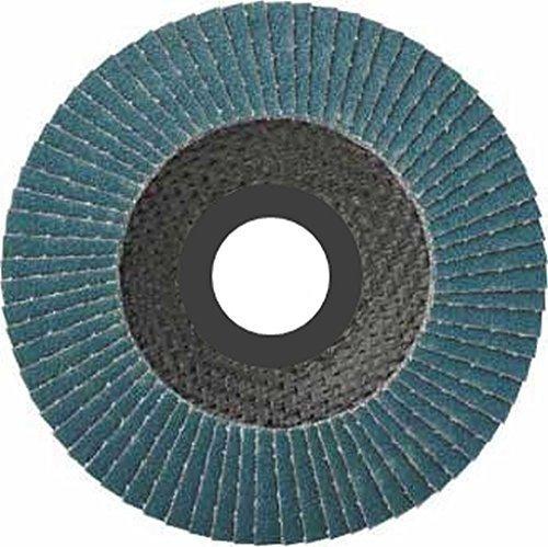Preisvergleich Produktbild 10 Stück SBS Fächerscheiben 125 mm / Korn 80 Blau Schleifscheiben Schleifmop