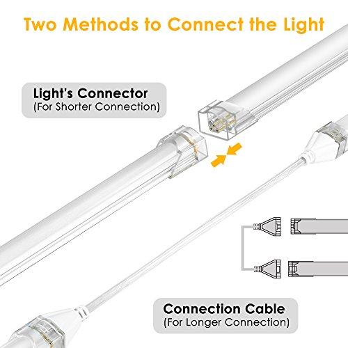 Luce LED Sottopensile Cucina 5 Pezzi LOFTer Lampada Barra LED Bacone ...