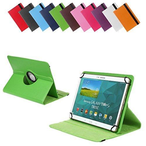 BRALEXX Universal Tablet PC Tasche passend für MEDION LIFETAB S10346 (MD 98992), 10 Zoll, Grün