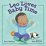 Leo Loves Baby Time by Anna McQuinn (2014-02-25)