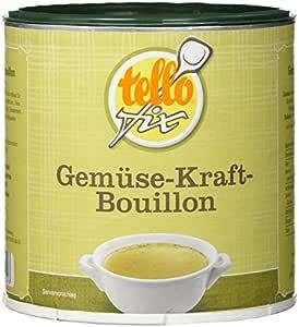 tellofix Gemüse-Kraft-Bouillon 1er Pack (1 x 340 g Packung)