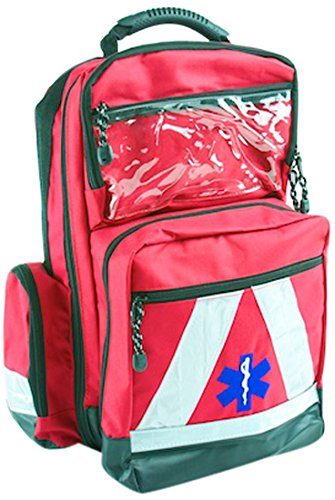 51Er9cXS6oL - Basic Medical Supply BMS-2S 135228salvavidas Mochila Impermeable, color rojo