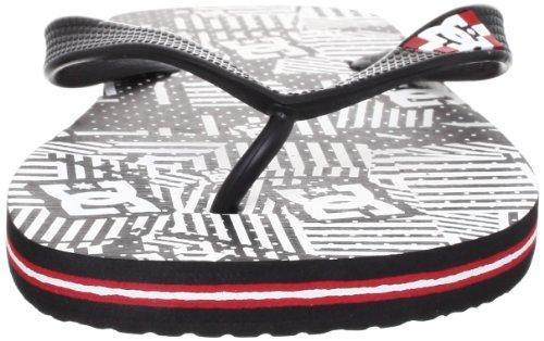 DC Shoes Spray Graffik, Sandales hommes Noir/blanc