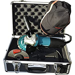 Makita GA5030RSP1 – Amoladora angular, 125mm, en maletín, con accesorios, 720W