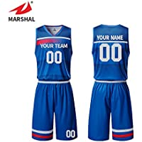 ecff3e621 ZHOUKA men s custom logo design uniforms blue pattern breathable mesh basketball  jersey